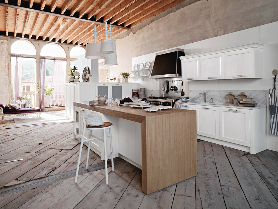 Asolo spedo mobili - Cucine bianche e legno ...